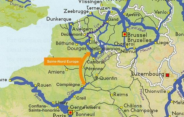 Possible remise en cause du canal Seine-Nord Europe