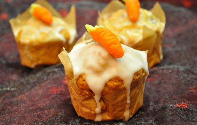 Carrot cake, gâteau aux carottes