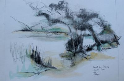 DESSINS ... paysages divers