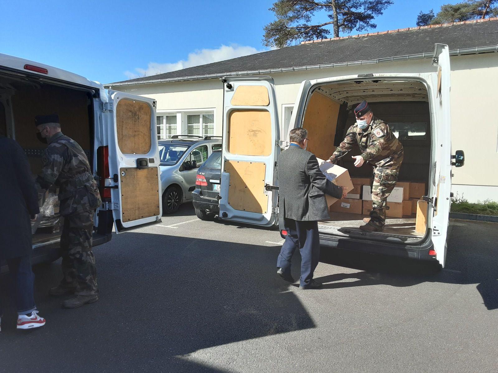 Soutien de l'UNC35 aux soldats brétilliens en OPEX