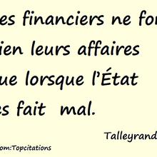 23 citations au top de Monsieur de Talleyrand-Périgord, alias le Diable boiteux