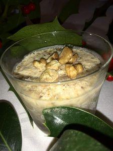 soufflé glacé aux noix