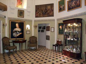 Visite : mur onctueux, mur croquant, espace de vente, banque accueil, séquence didactique, espace Marquise de Sévigné...