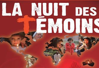 LA NUIT DES TEMOINS EN DIRECT DE NOTRE DAME DE PARIS