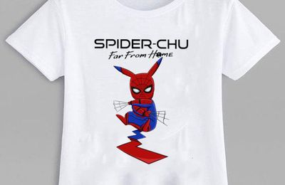 Top Spider-Chu Far From Home Spider Man shirt