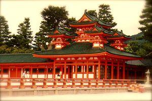 Kyôto : Le sanctuaire de la Paix et la Tranquilité, Héian-Jingû 平安神宮