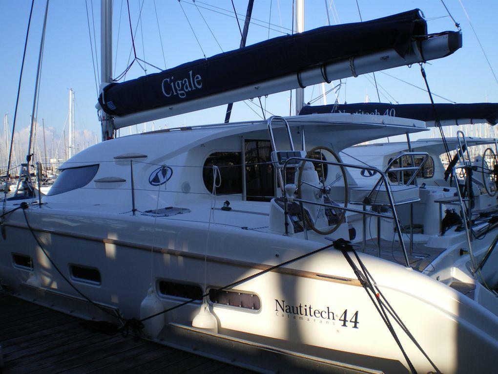 """Présentation de """"CIGALE"""" Catamaran NAUTITECH 44 version propriétaire finition exclusive"""