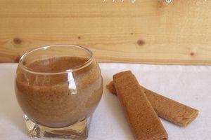Mousse chocolat / caramel