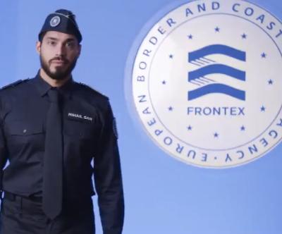 Voici le premier uniforme européen des agents de Frontex  (Garde-frontière)