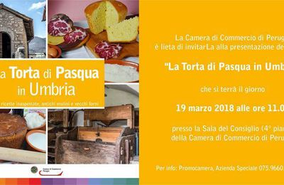 Torta e pizza di Pasqua in Umbria