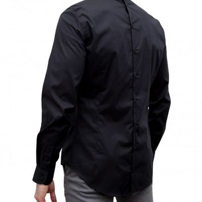 Double buttoning shirt Front and back for men