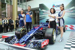 Alex Albon fait venir des sponsors thaïlandais chez Toro Rosso