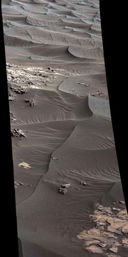 BIZARRES DUNES SUR MARS