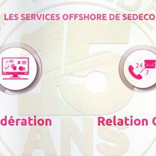 Business To Business : place aux services offshore de SEDECO !