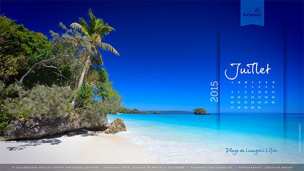 New Caledonia - Next month: free wallpaper download