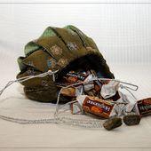 Омияге - конфетная завитушка