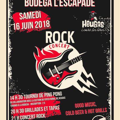 """Ouverture """"Bodega"""", samedi 16 Juin 2018"""