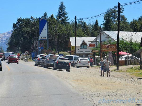Villa la Angostura, route des 7 lacs, Argentine en camping-car