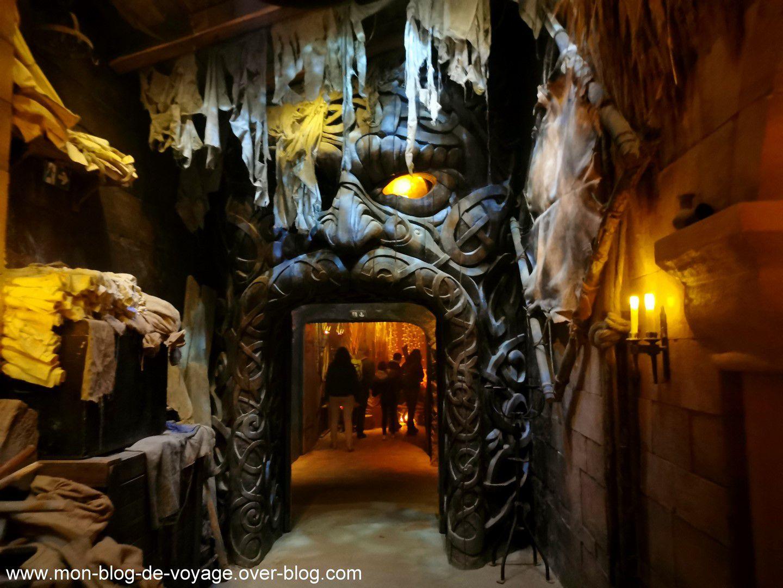 Le premier royaume, un parcours immersif très spectaculaire (octobre 2020, images personnelles)