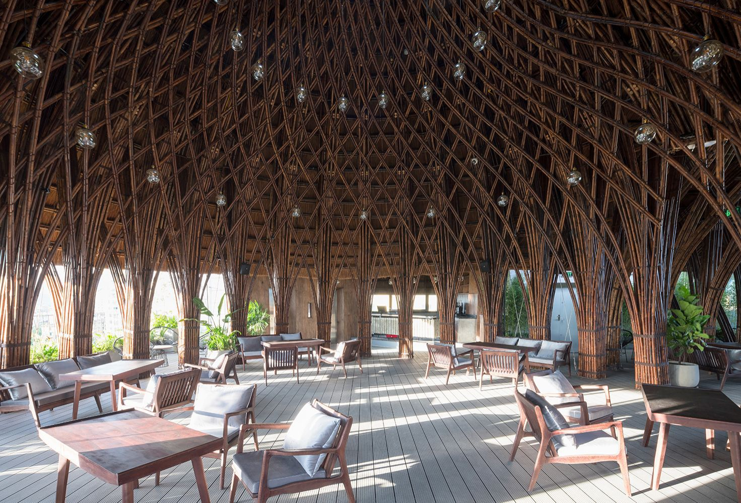 Interior Design Of The Year: Nocenco Cafe by Vo Trong Nghia Co