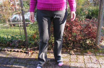 Pantalon en jean gris