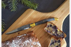 Banana bread aux myrtilles