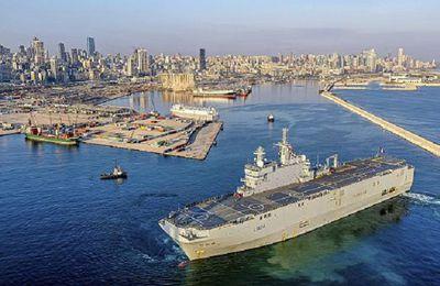Déferlement militaire de l'OTAN au Liban, sous couverture humanitaire
