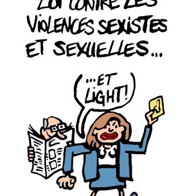 Loi contre les violences sexistes et sexuelles