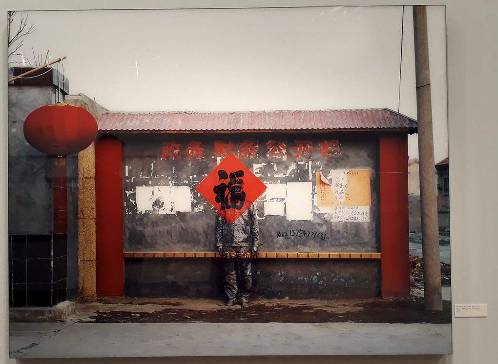 Liu Bolin à la Maison Européenne de la Photographie