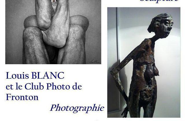 FRONTON : EXPOSITION LOUIS BLANC & PIERRE MOUZAT
