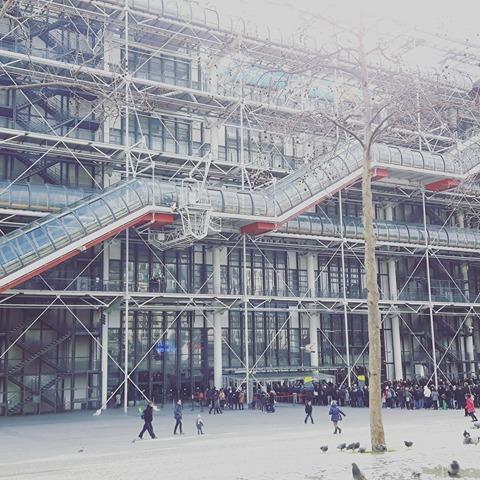 Quand le centre Pompidou est à nous!