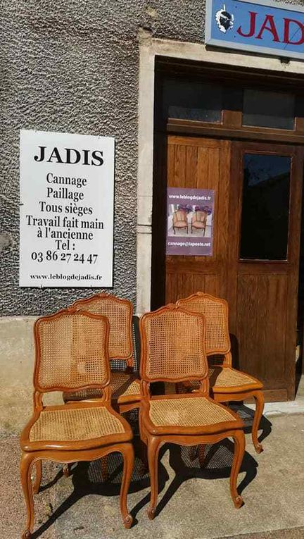 JADIS cannage paillage CLAMECY
