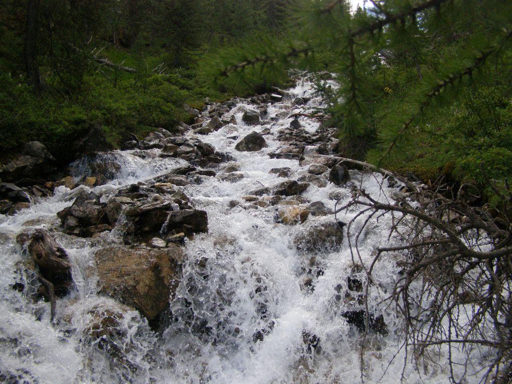 FLANERIE autour du LAC SAINTE ANNE - QUEYRAS - Hautes Alpes -
