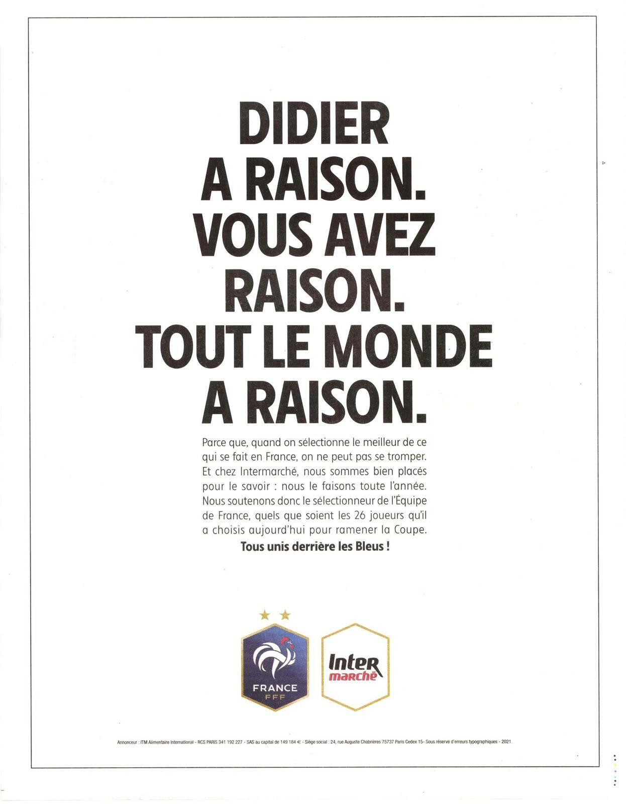 L'Hebdo, semaine du 12 au 18 mai