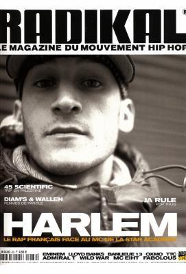 Magazine Radikal - spécial Harlem