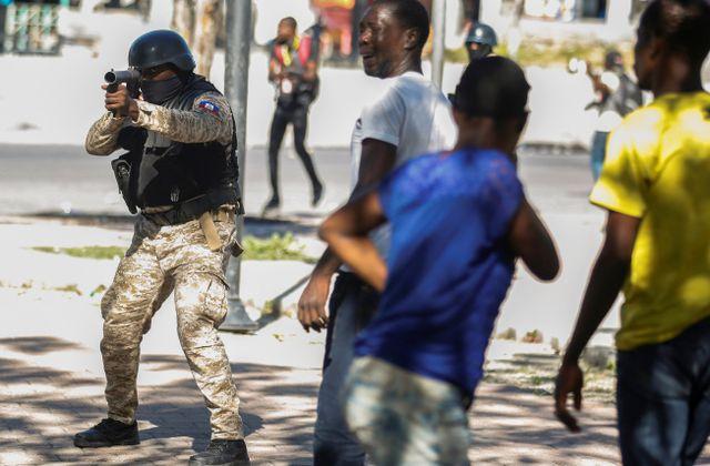 Le peuple d'Haïti dans son interminable combat pour la liberté