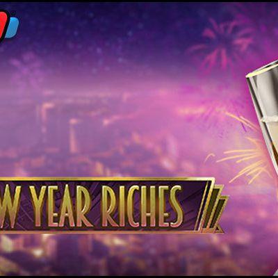 Le jeu de casino gratuit du mois de janvier 2021 : New Year Riches de Play'n Go