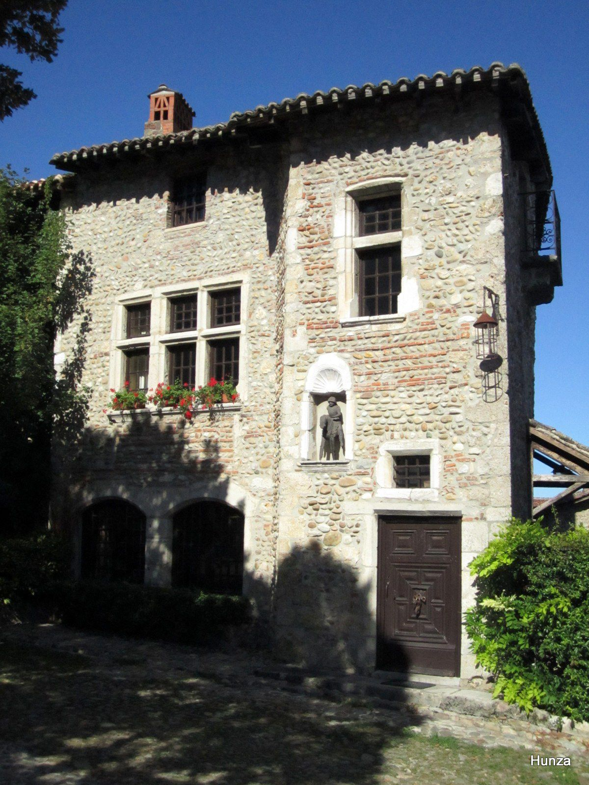 Pérouges, maison du Petit Saint Georges