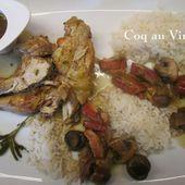 Un grand classique rajeuni : Le coq au vin blanc express - Chez Mamigoz