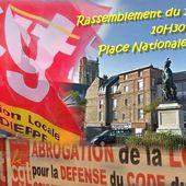 1er mai CGT DIEPPE : En finir avec les reculs sociaux qui font le terreau de l'extrême droite ! - Ça n'empêche pas Nicolas