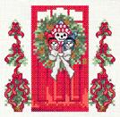 Tutoriel Broderie - Porte fleurie Décembre - Passionnement Créative