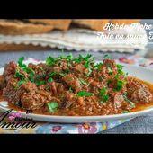 kebda mchermla, ou foie d'agneau à la chermoula en sauce tomate