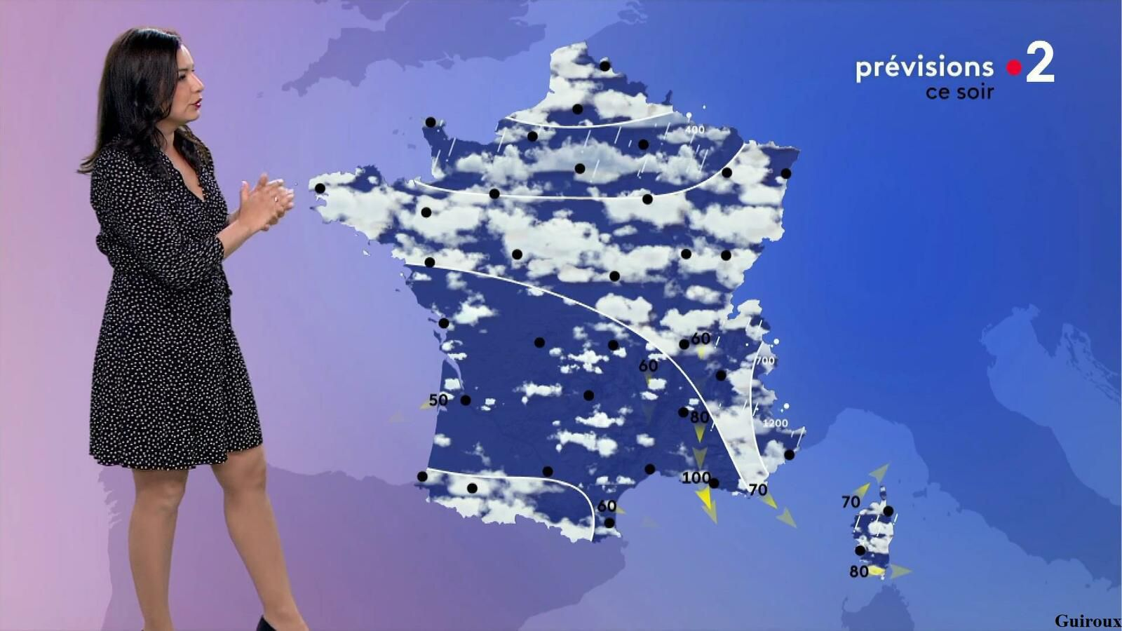 Anaïs Baydemir 12/04/2021 Journaux météo du midi