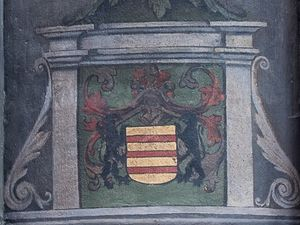 Epitaphe du chevalier Guirault du Guot. Cathédrale de Metz.