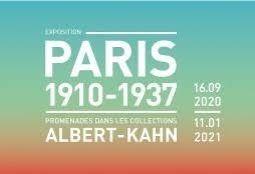 📷  Exposition Paris 1910-1937 - Promenades dans les collections Albert-Kahn