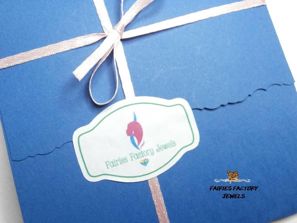 Confezione regalo per ORECCHINI - 100% HANDMADE by FAIRIES FACTORY JEWELS