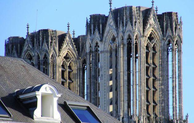 Cathédrale de Reims, l'extérieur