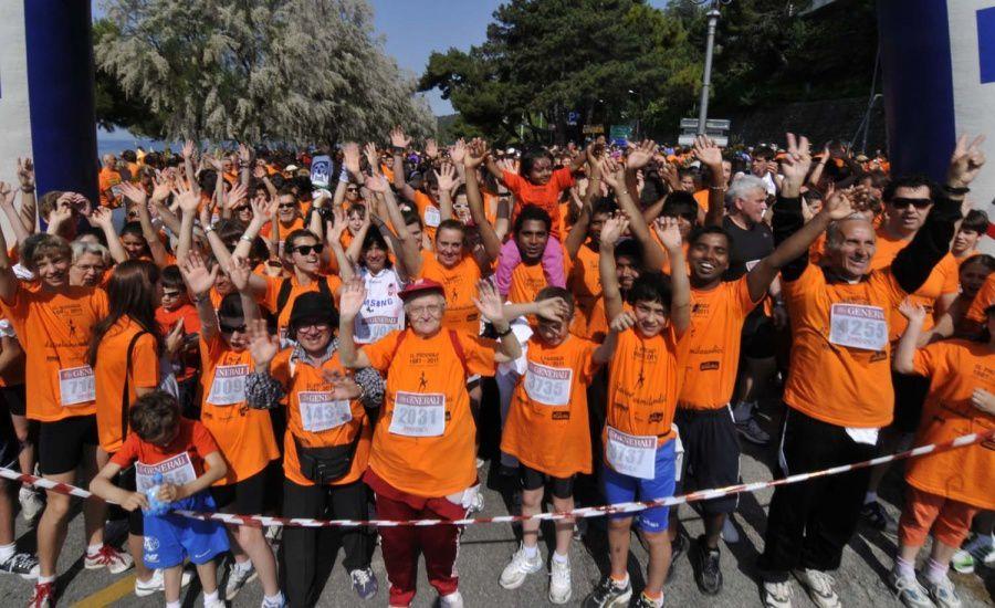 Una sintesi per immagini della Maratona d'Europa, della Mezza e della  Family Run.