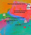 Atelier écriture poétique CCQ du 27 janvier 2015