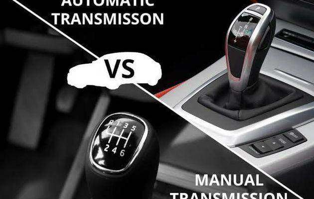 Conduisez-vous une voiture automatique ou manuelle?